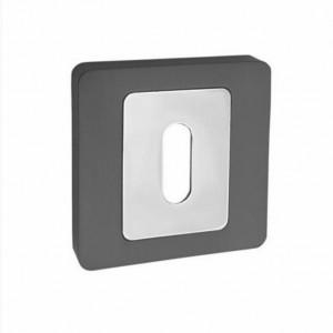 Szyld AMB kwadratowy na klucz grafit