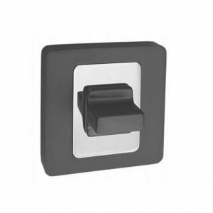 Szyld AMB kwadratowy na WC grafit