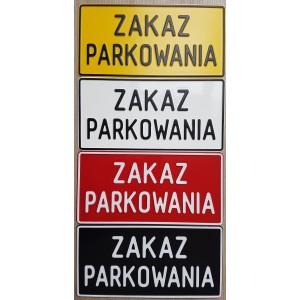 TAD zakaz parkowania